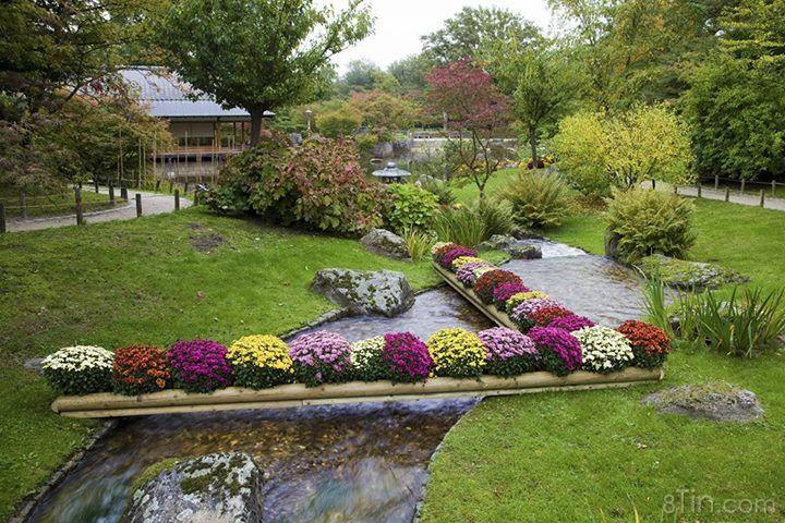 Dạo một vòng trong những khu vườn thơ mộng ở Nhật Bản,