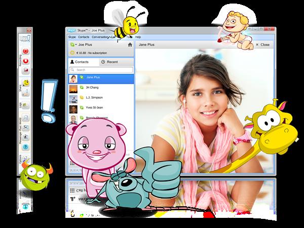 Messenger Plus! for Skype v1.8 Türkçe