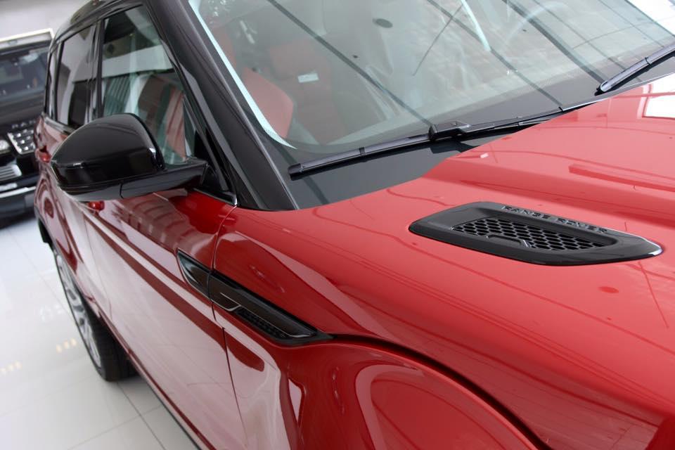 Xe Range Rover Evoque HSE DYNAMIC Màu Đỏ 03
