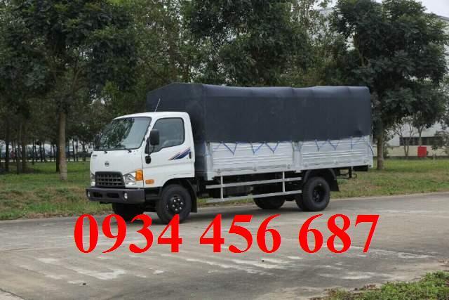 Xe Hyundai 7 tấn thùng bạt