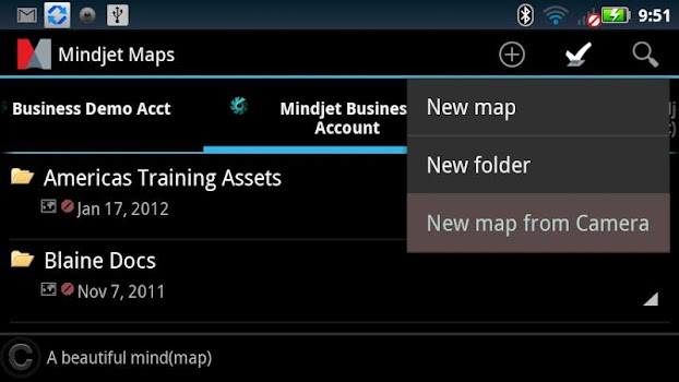 Mindjet Maps for Android