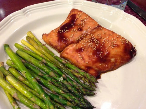 139 2…Salmon with Hoisin Glaze