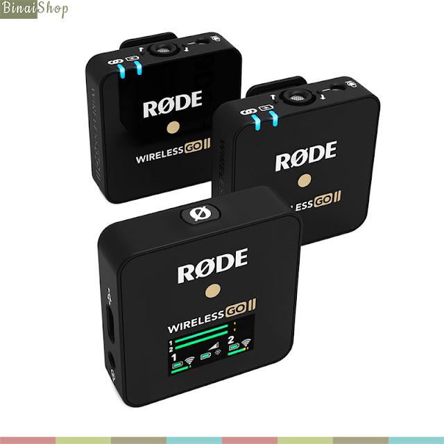 Rode Wireless GO II - Micro Thu Âm Không Dây Cao Cấp Cho Máy Ảnh