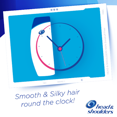 Head and Shoulders has you covered 247 keeping your hair smooth and silky all day long