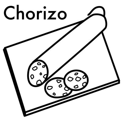 Dibujos De Chorizos Para Colorear