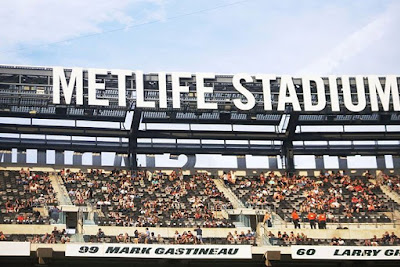 I hung out with The 405 at the Metlife Stadium show in