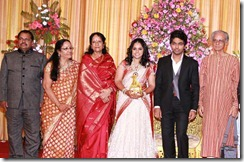 Vani Jeyaram @ GV Prakash Kumar & Saindhavi Wedding Reception Photos