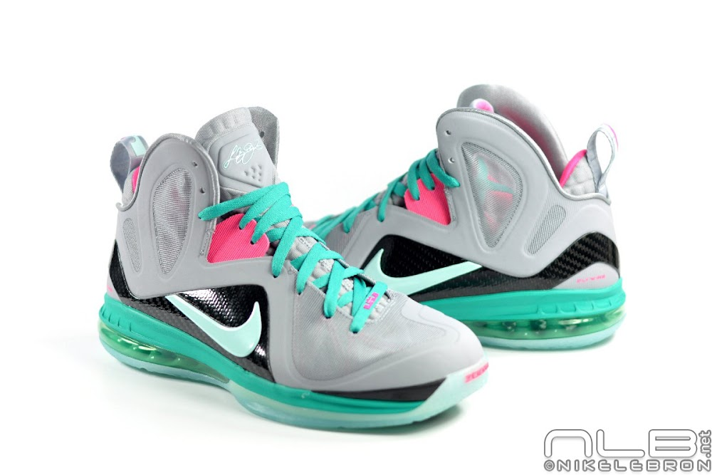 d803a87ff41f Releasing Now  Nike LeBron 9 Elite Miami Vice   South Beach