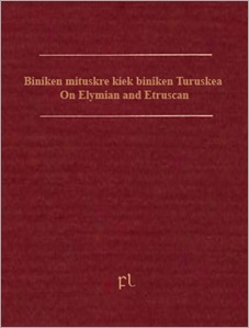 On Elymian and Etruscan Cover