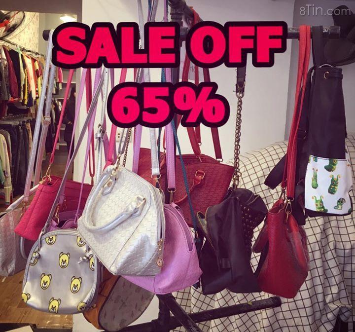 SALE SALE SALE 65% HÀNG KÍ GỬI Sau 3 ngày SALE Shop