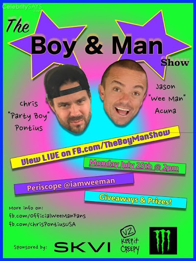 This Monday Chris Pontius and myself are gonna do a podcast live