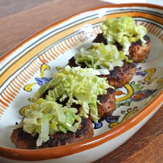 Sausage Patties with Savoy Cabbage