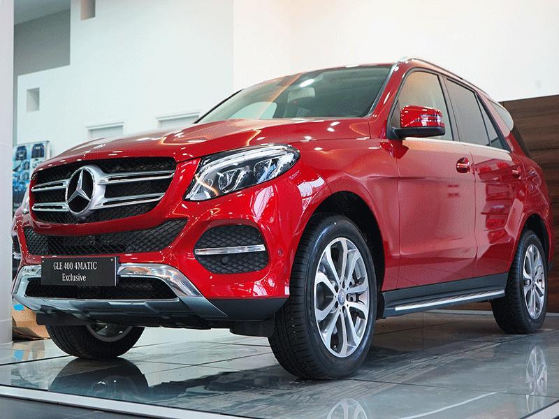 Cận cảnh xe Mercedes GLE 400 Exclusive 4 Matic 01