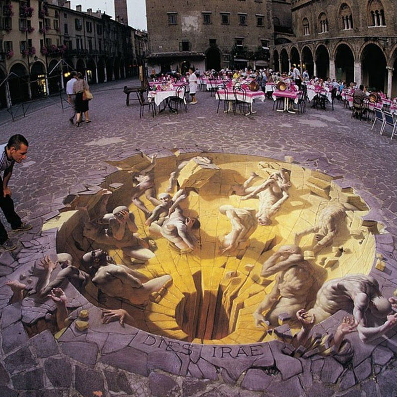 Kurt Wenner, the Artist Who Invented 3D Street Art