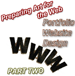 preparing art for web