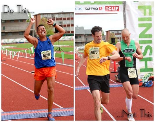 finish line photo