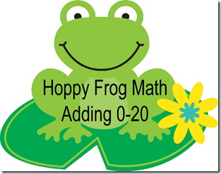 Hoppy Frog math Image