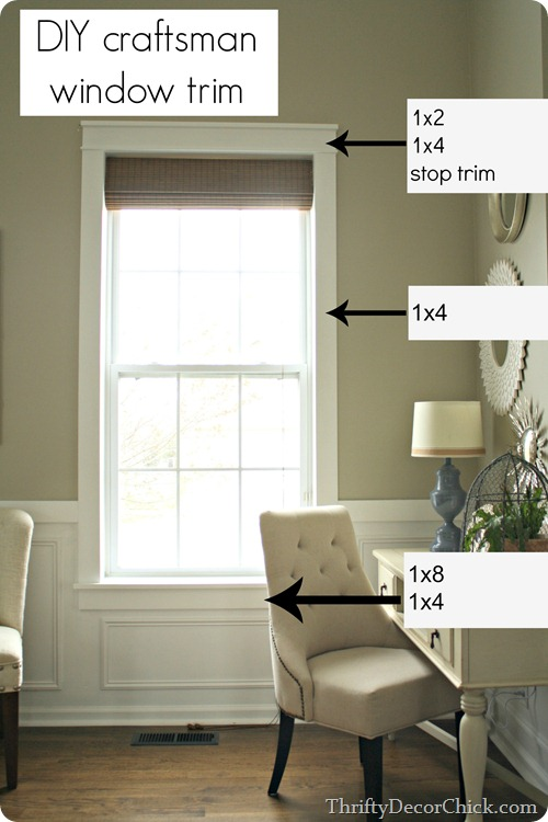 how to install new window trim