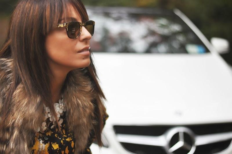 outfit, mercedes benz, sunglasses carreca jimmi choo, varese, italian fashion bloggers, fashion bloggers, street style, zagufashion, valentina coco, i migliori fashion blogger italiani