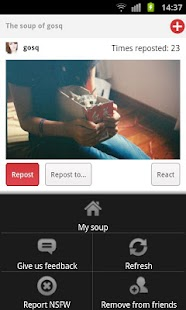 Soupper - Soup.io client - screenshot thumbnail