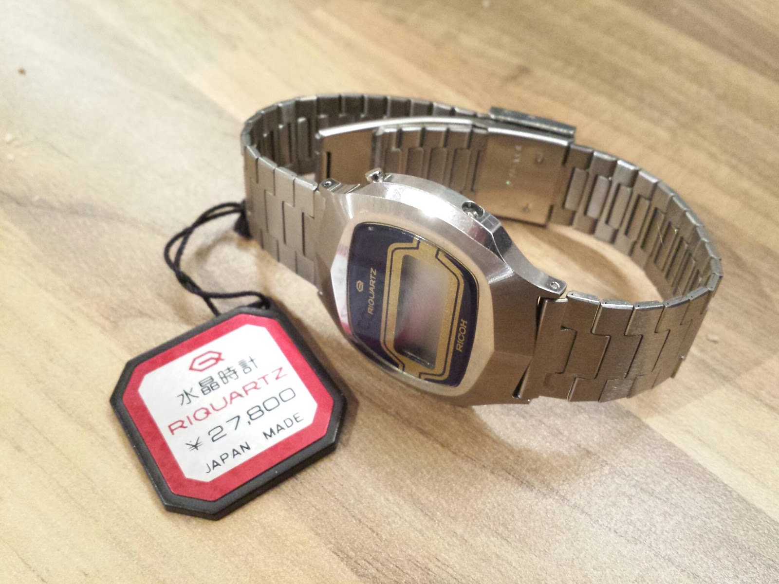 Which Watch Today   : Ricoh Riquartz 1970s 811 module LCD watch