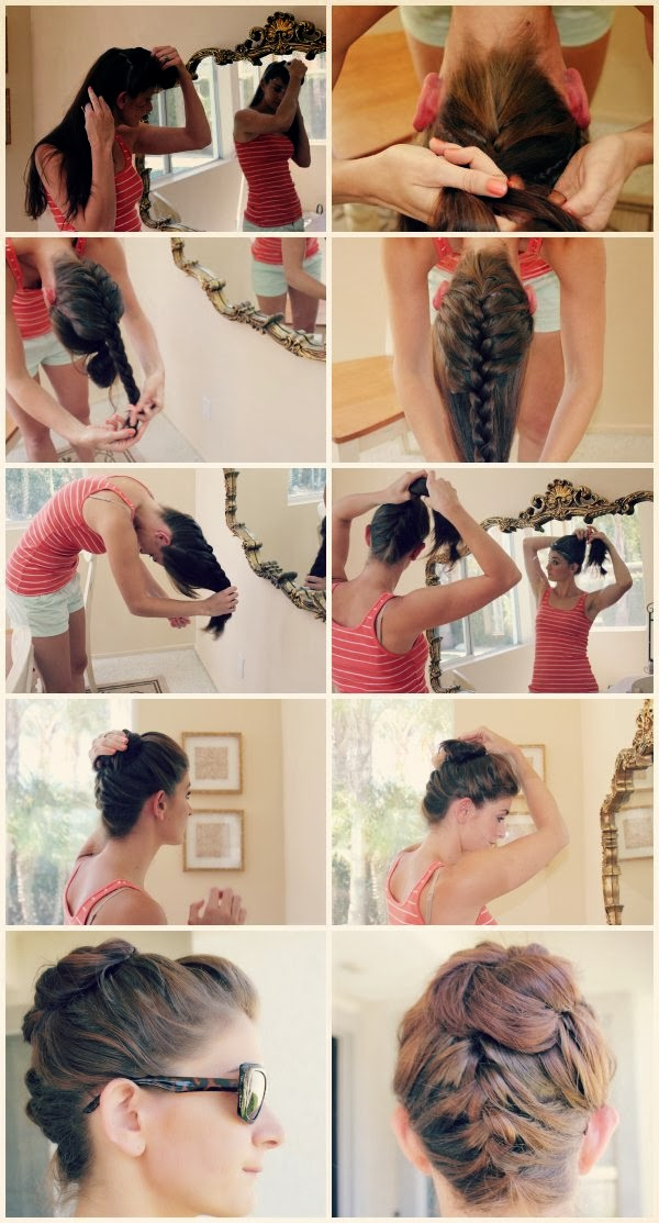Prime Simple Bun Hairstyle Tutorials Hairstyles For Wedding 2014 Hairstyle Inspiration Daily Dogsangcom