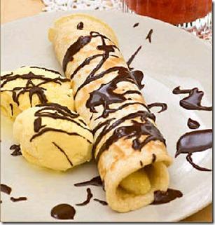 Image result for Pancake Pisang Keju Gulung