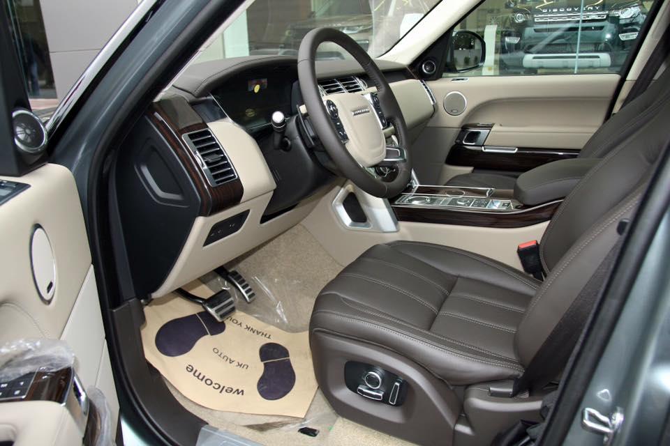 Nội thất xe Range Rover Vogue 06