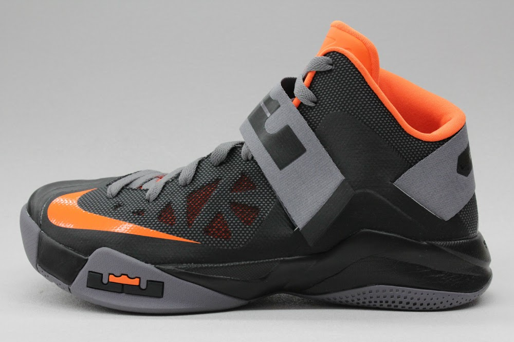 sneakers for cheap 51111 ea567 New Nike Zoom LeBron Soldier VI 8211 BlackOrange 8211 Available ...