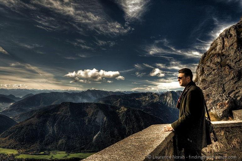 Man germany mountain