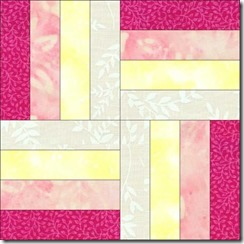 sampler quilt rail block