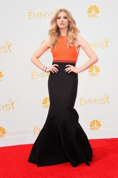 Natalie Dormer attends the 66th Annual Primetime Emmy Awards