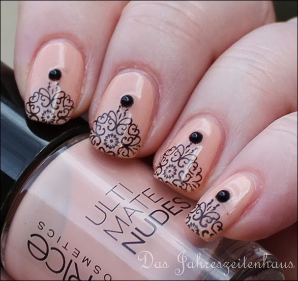 Nail Art Nageldesign Baroque Vol 1 7