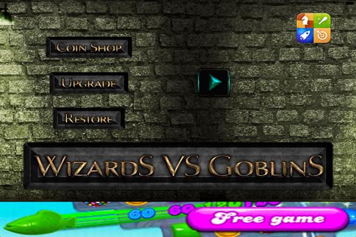ウィザーズ対ゴブリン - 最も楽しい無料のアクションゲーム