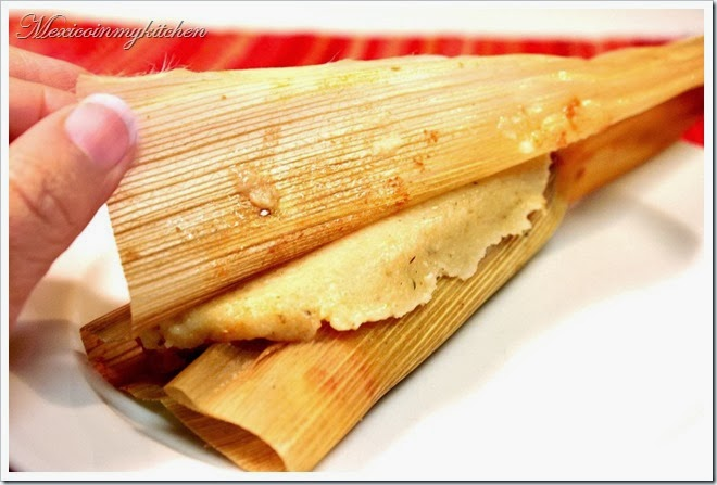 Chicken and Vegetables Tamales | easy and with excellent results