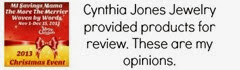 Cynthia Jones Jewelry Disclosure