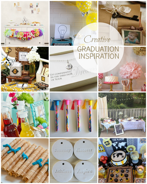 Creative Graduation Inspiration  Round Up via homework | carolynshomework.com