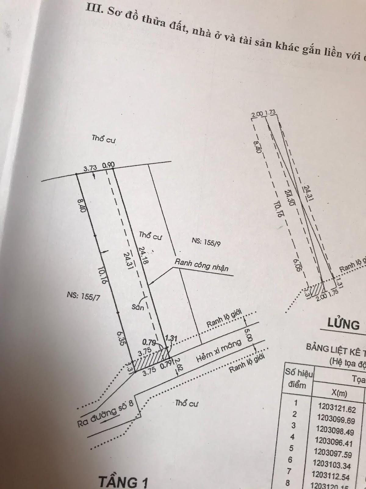 Bán dãy nhà trọ Khu Chế Xuất Linh Trung Thủ Đức, ngang 9,2m x 24,31m, giá 6,75 tỷ.4