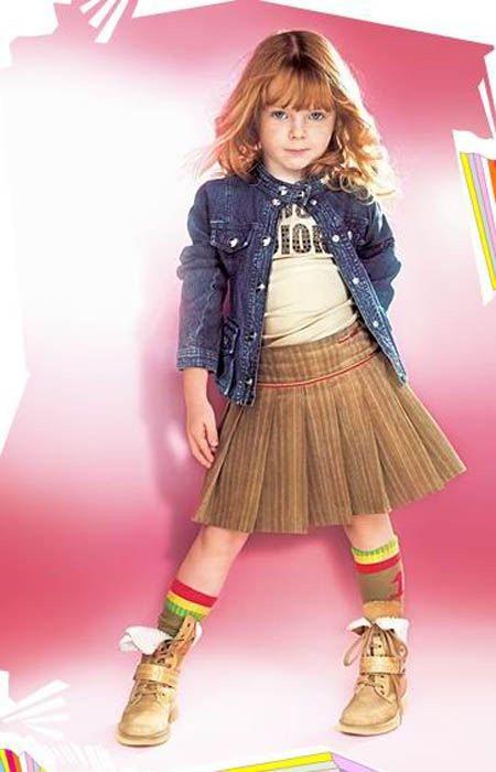 أطقم بنات للعيد 2014 ملابس اطفال كيوت للبنات 2014 تشكيلة توك