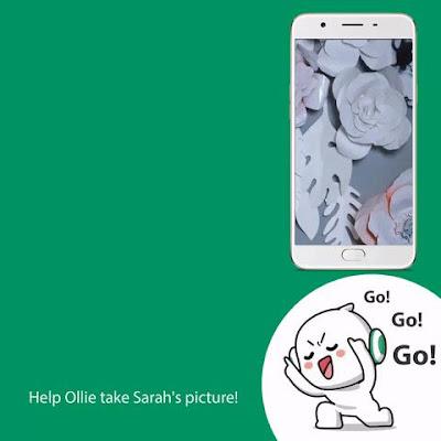 Popsters kaya niyo po bang tulungan si Ollie ; OPPOF1s SelfieExpert