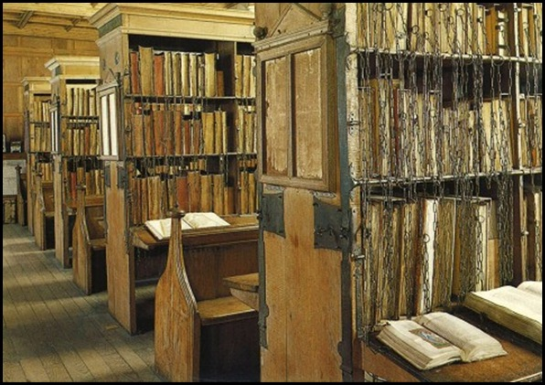 Hereford Cathedral Chained Library, Hereford, Angleterre