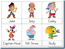 Jake And The Never Land Pirates Kindergarten Printables 1111