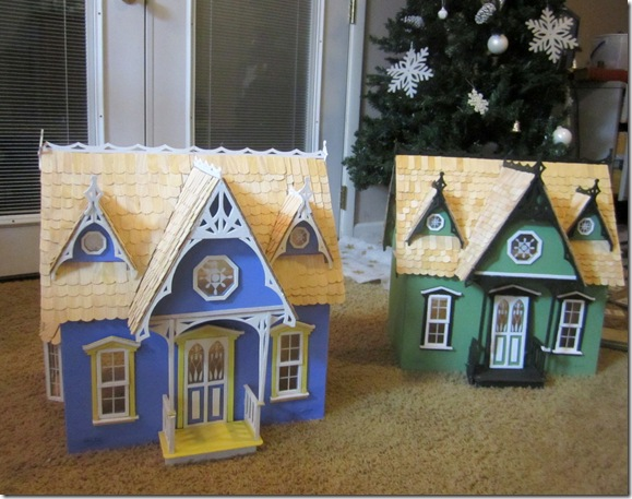 Two Dollhouses