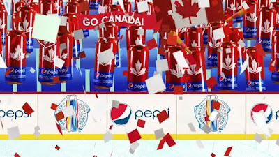 Nothing feels better than a win and a Pepsi for the celebration Go Team Canada WCH2016