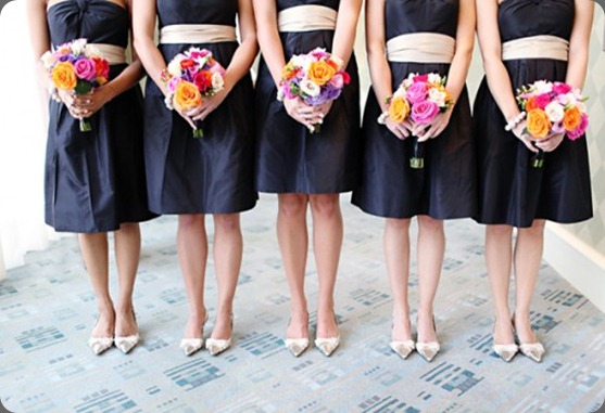 Black-Bridesmaids-Dresses-with-White-Sashes-500x333 elizabeth anne designs