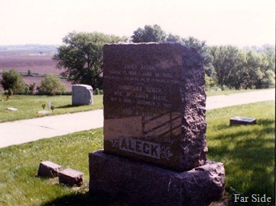 Xaver Aleck Grave Marker