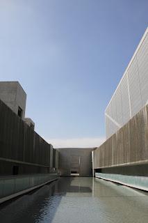 狭山池博物館中庭