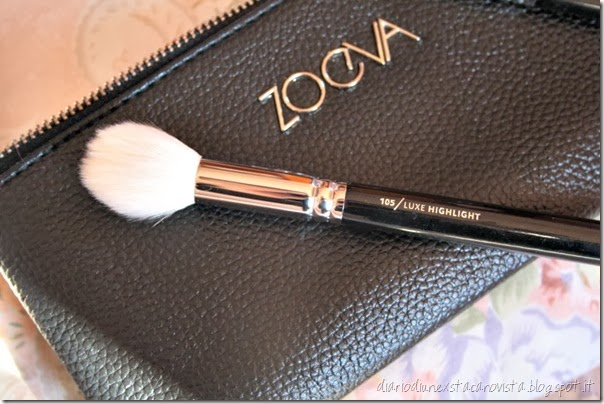 zoeva pennelli 105 luxe highlight