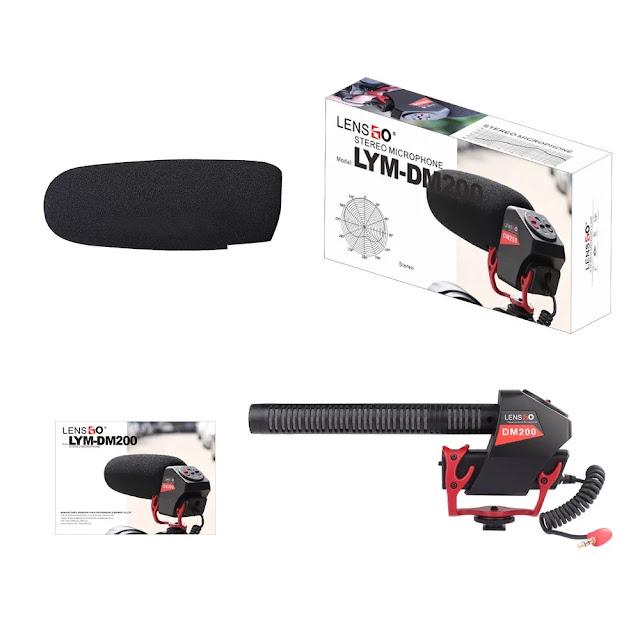 Lensgo LYM-DM200 - Micro Shotgun Cho Máy Ảnh