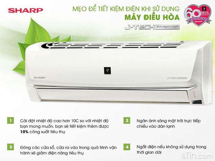 Việc sử dụng máy lạnh ngày càng phổ biến trong mùa nóng